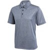 adidas® ClimaLite® heather polo