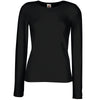 Lady-fit crew neck long sleeve tee