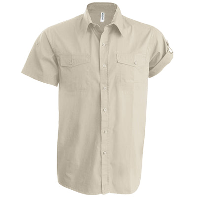 Tropical short sleeved shirt