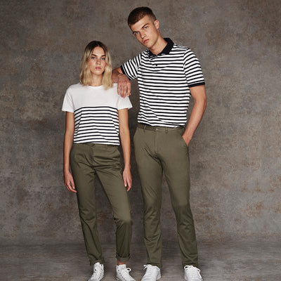 Stretch chinos - tag-free