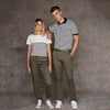 Women's stretch chinos - tag-free