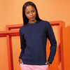 Women's organic crew neck sweatshirt
