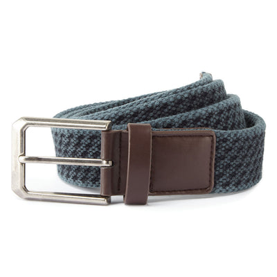 Men's vintage wash canvas belt
