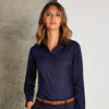 Business blouse long-sleeved (tailored fit)