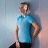 Women's short sleeve stretch polo