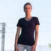 Feel good women's stretch v-neck t-shirt