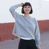 Women's cropped slounge sweat