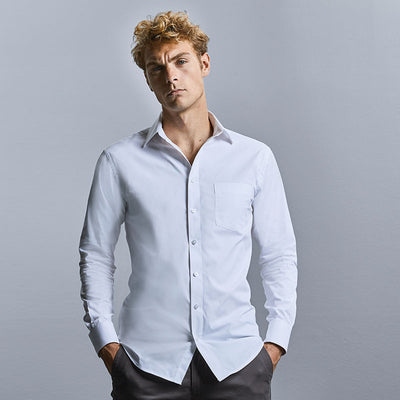 Long sleeve tailored Coolmax® shirt