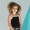 Kids feel-good stretch contrast strappy vest
