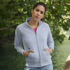 Women's premium 70/30 sweatshirt jacket