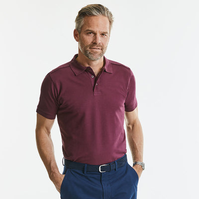 Tailored stretch polo