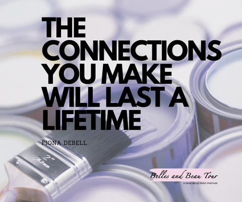 The connections you make at belles and beau tour will last a lifetime.  |  bellesandbeautour.com