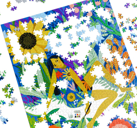 Lemonade Pursuits How Are Jigsaw Puzzles Made Finish Product