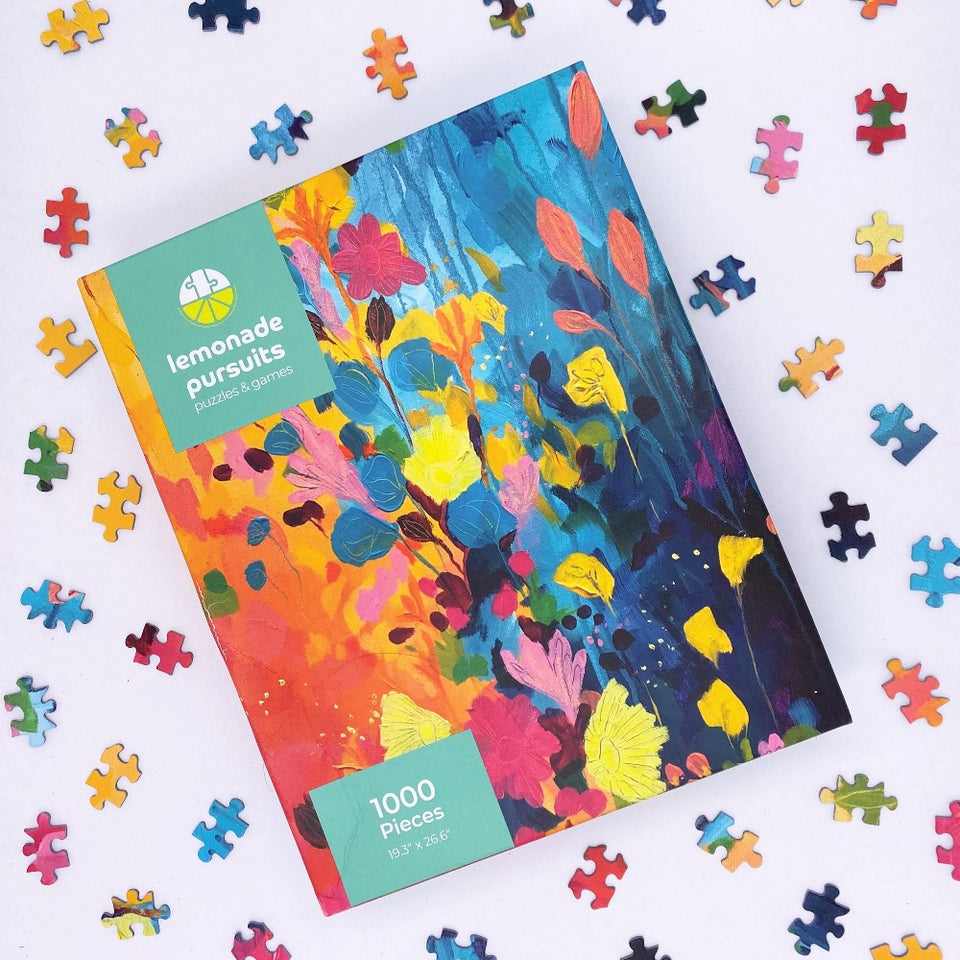 1000 Piece Spring Begins Jigsaw Puzzle designed by Susan Nethercote