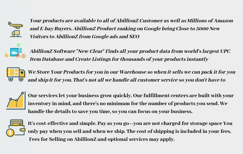 AbillionZ FBA Fulfillment by AbillionZ