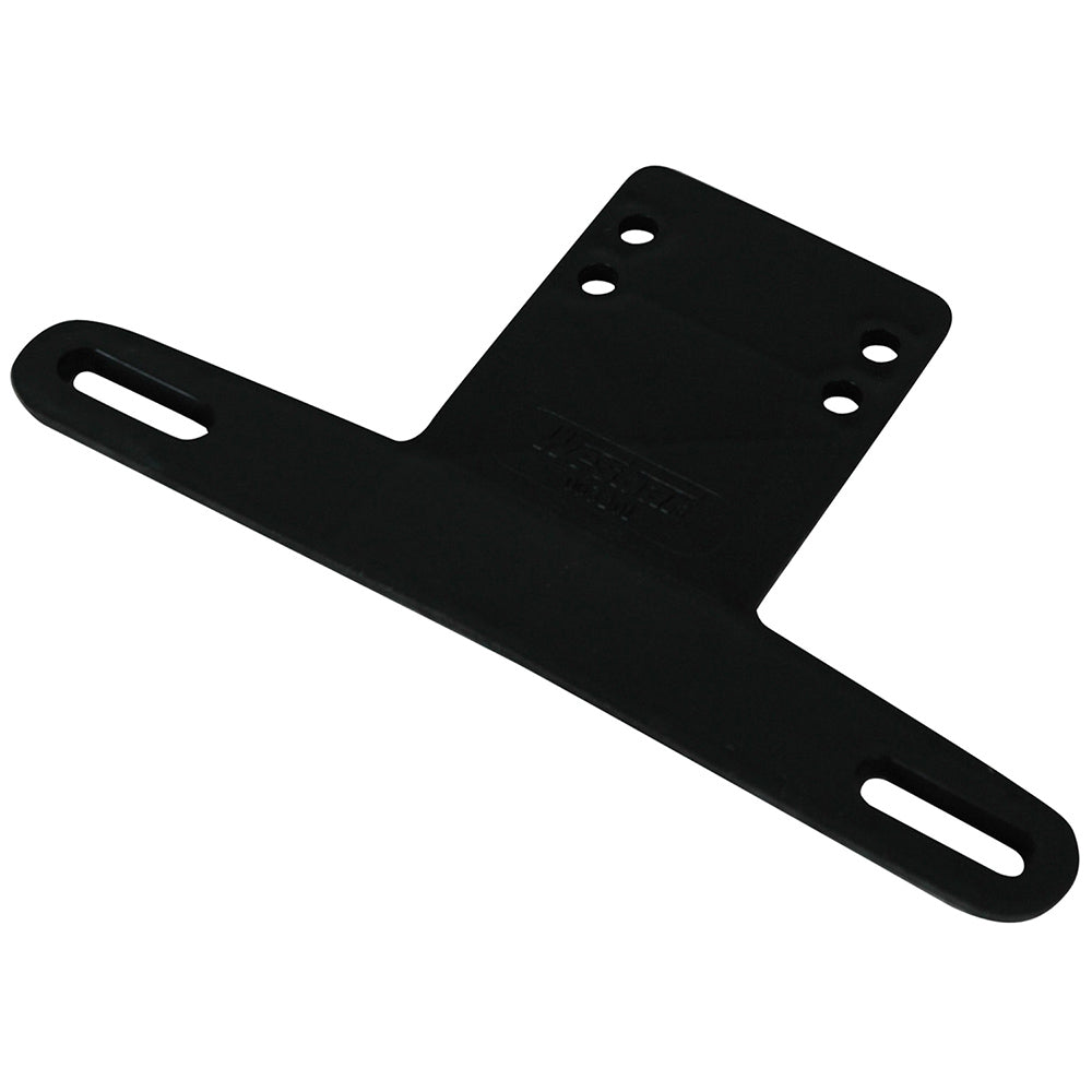 Wesbar License Plate Bracket Plastic Black - AbillionZ