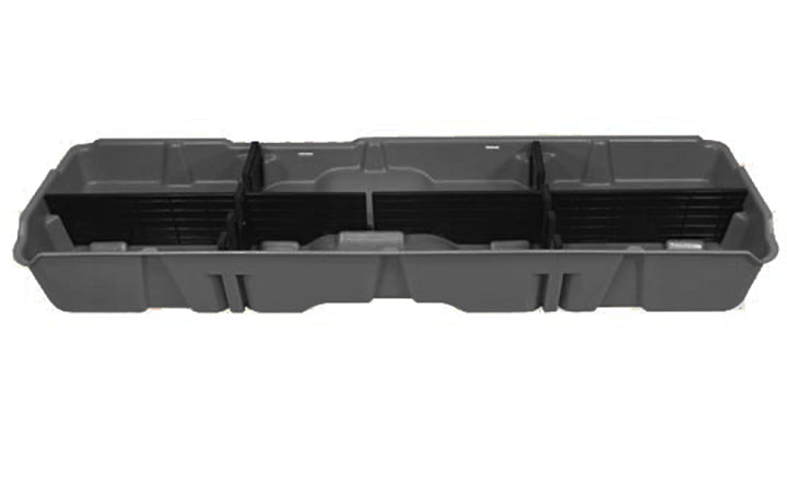 DU-HA Underseat Storage Gun Case 07-13 GMC & Chevy Dark Gray
