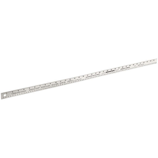 Mayes 36 Inch x 1 Inch Aluminum Ruler