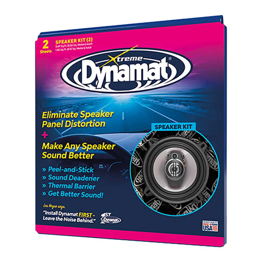 "DYNAMAT XTREME 1.4 SQ. FT. SPEAKER KIT; 2 PCS 10""x10"" - AbillionZ"