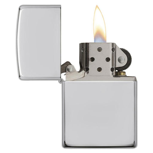 Zippo Windproof Lighter Armor High Polish Sterling Silver - AbillionZ
