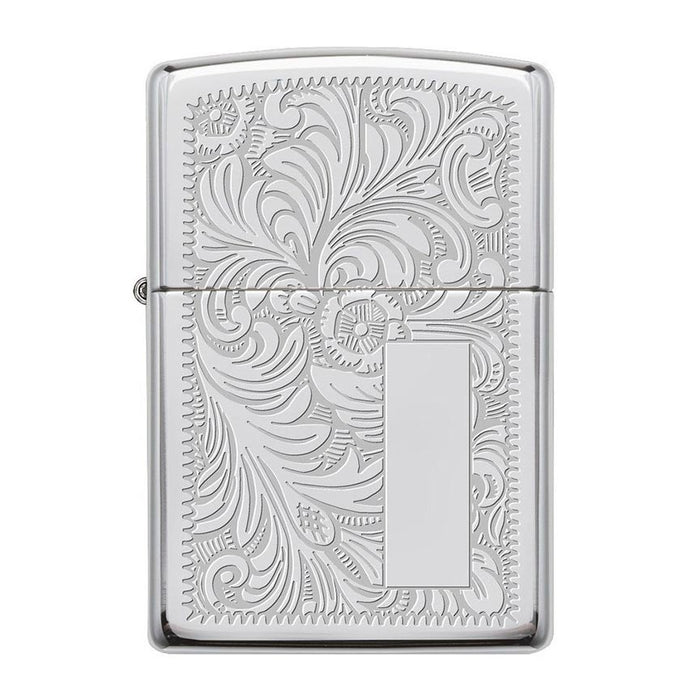 Zippo Windproof Lighter Venetian 352 High Polish Chrome
