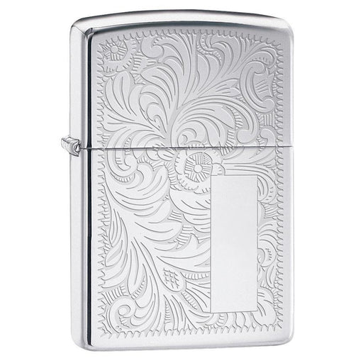 Zippo Windproof Lighter Venetian 352 High Polish Chrome - AbillionZ