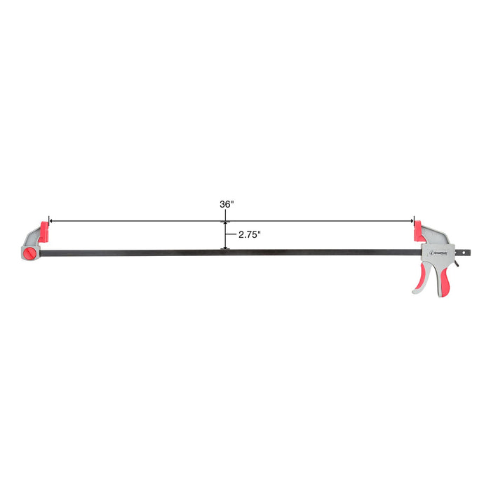 GreatNeck Inch Ratcheting Bar Clamp
