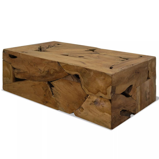"AbillionZ Collection Coffee Table Teak Resin 43.3""x23.6""x15.7"" - AbillionZ"