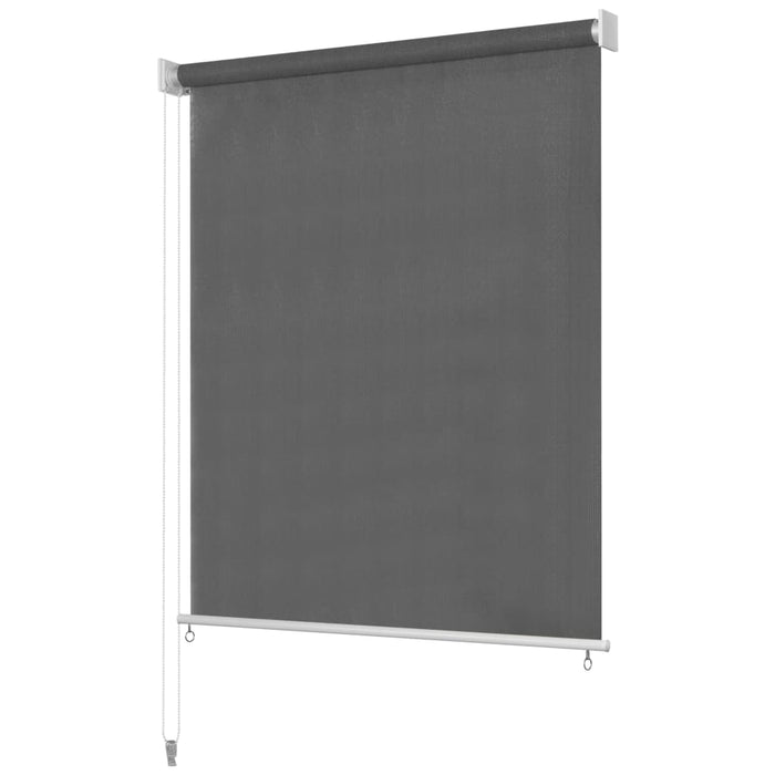 "AbillionZ Collection Outdoor Roller Blind 94.4""x55.1""  Anthracite - AbillionZ"
