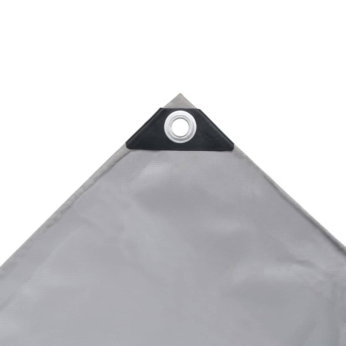 "AbillionZ Collection Tarpaulin 650 g/m² 13.1""x16.4"" Gray - AbillionZ"
