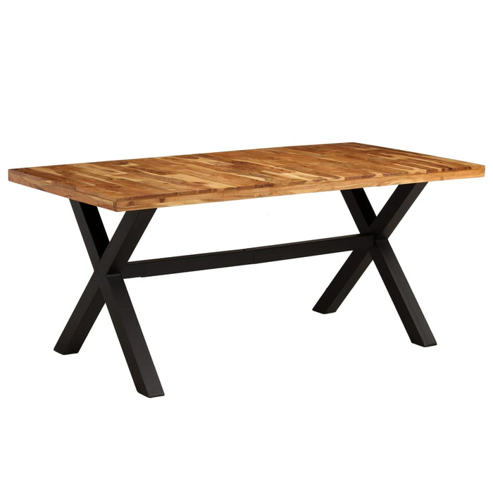 AbillionZ Collection Dining Table Set 7 Pieces Solid Acacia and Mango Wood - AbillionZ