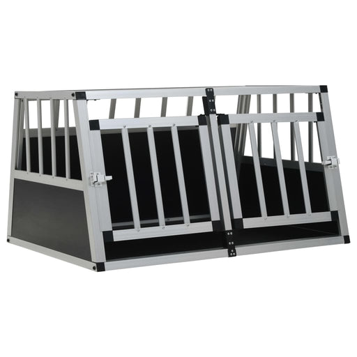 "AbillionZ Collection Dog Cage with Double Door 35""x27.2""x19.7"" - AbillionZ"