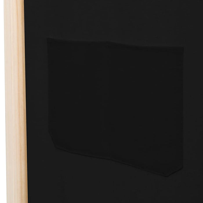 "AbillionZ Collection 5-Panel Room Divider Black 78.7""x66.9""x1.6"" Fabric - AbillionZ"