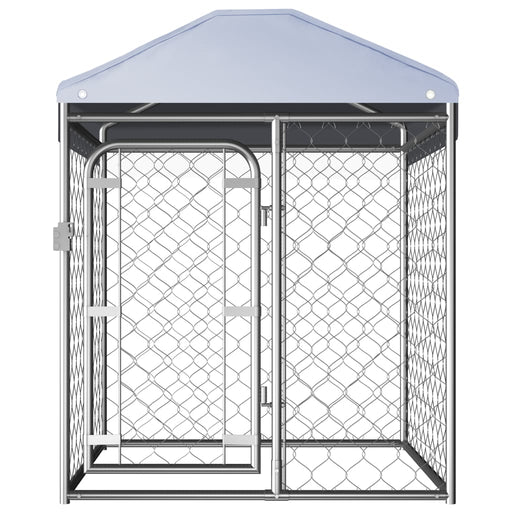 "AbillionZ Collection Outdoor Dog Kennel with Roof 39.4""x39.4""x49.2"" - AbillionZ"