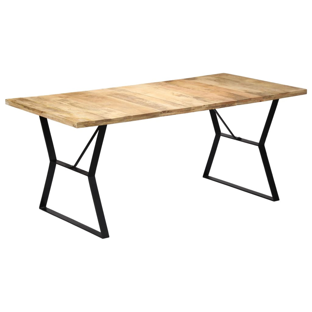 "AbillionZ Collection Dining Table 70.8""x35.4""x29.9"" Solid Mango Wood - AbillionZ"