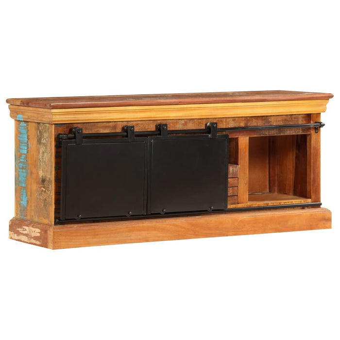 "AbillionZ Collection TV Cabinet 43.3""x11.8""x17.7"" Solid Reclaimed Wood - AbillionZ"