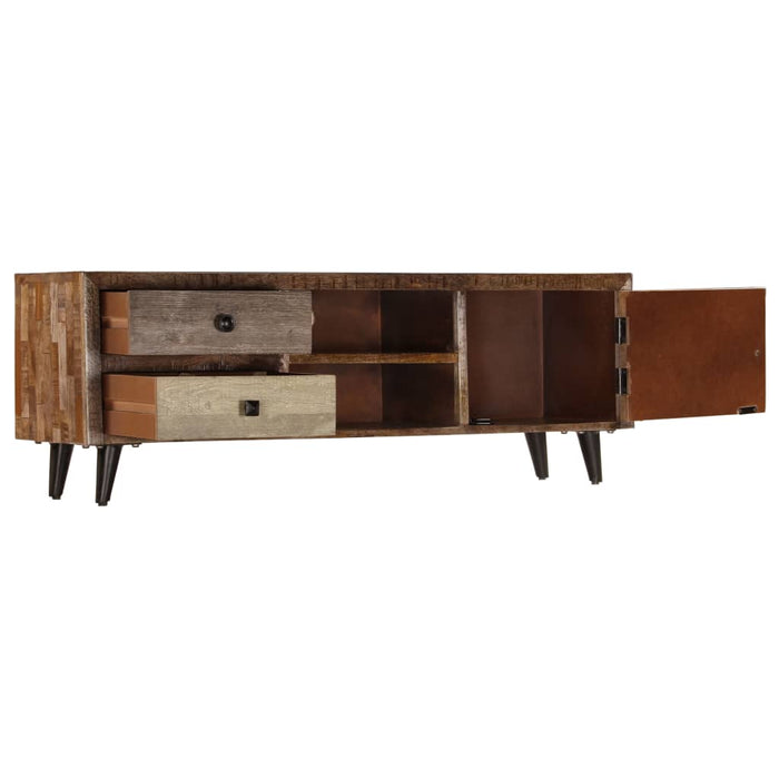 "AbillionZ Collection TV Cabinet 46.5""x11.8""x15.7"" Solid Mango Wood - AbillionZ"