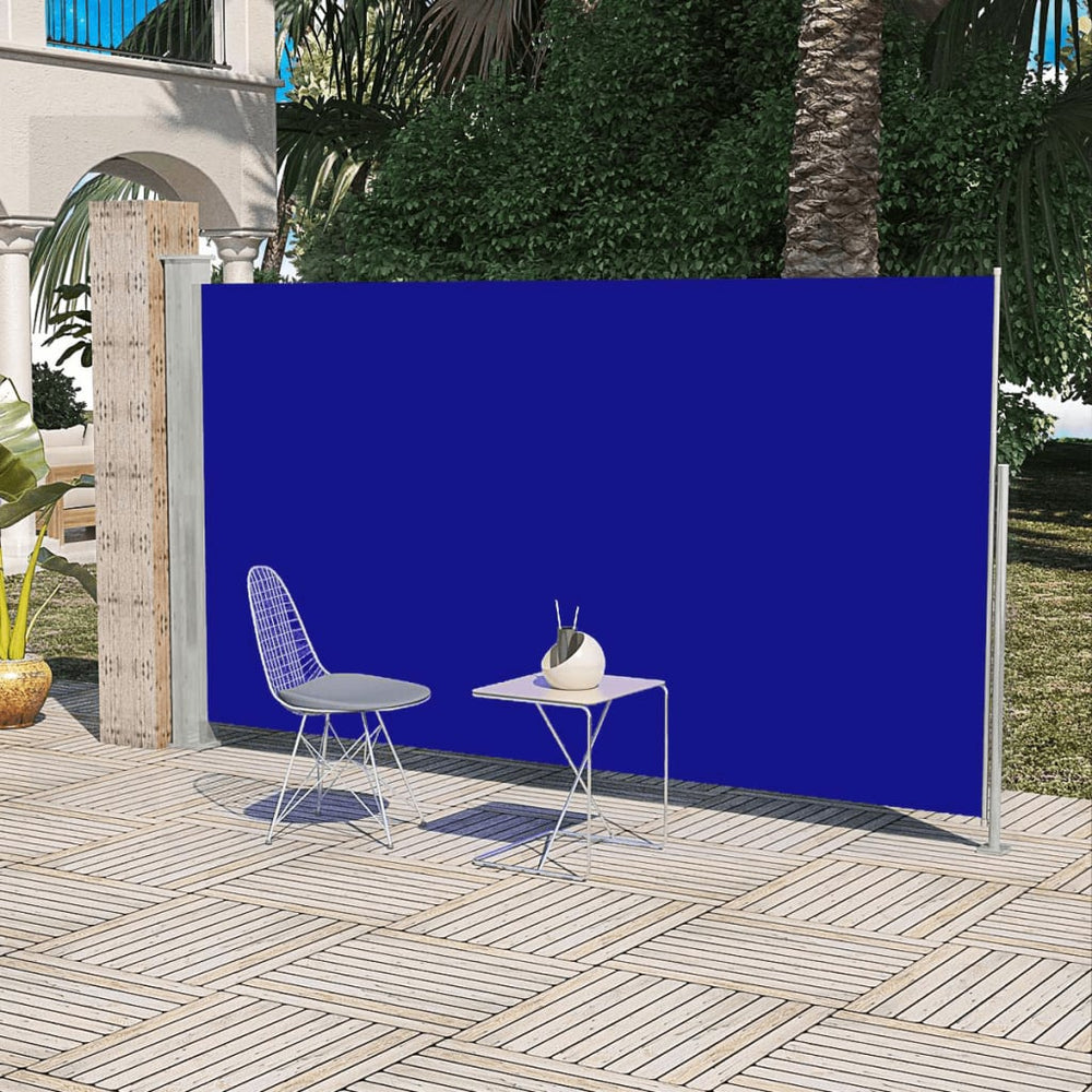"AbillionZ Collection Patio Terrace Side Awning Blue 5'2""x9'10"" - AbillionZ"