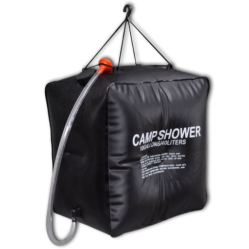 Camp Shower Solar Shower Outdoor Bath 10 gal lqd - AbillionZ
