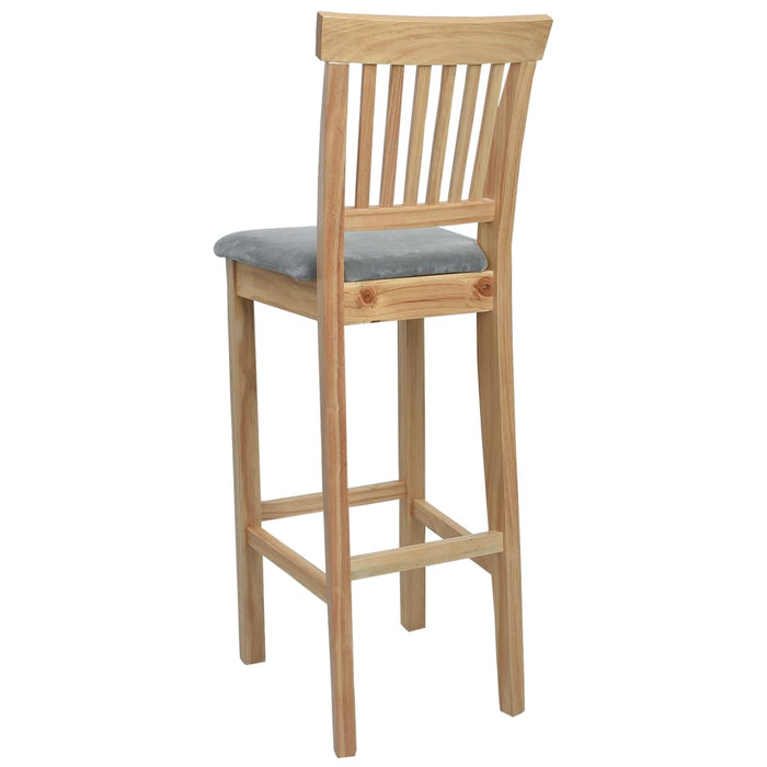 AbillionZ Collection Bar Chairs 2 pcs Wood - AbillionZ