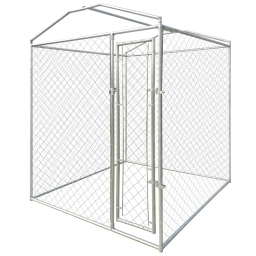 AbillionZ Collection Outdoor Dog Kennel with Canopy Top 6'x6'x7.9' - AbillionZ