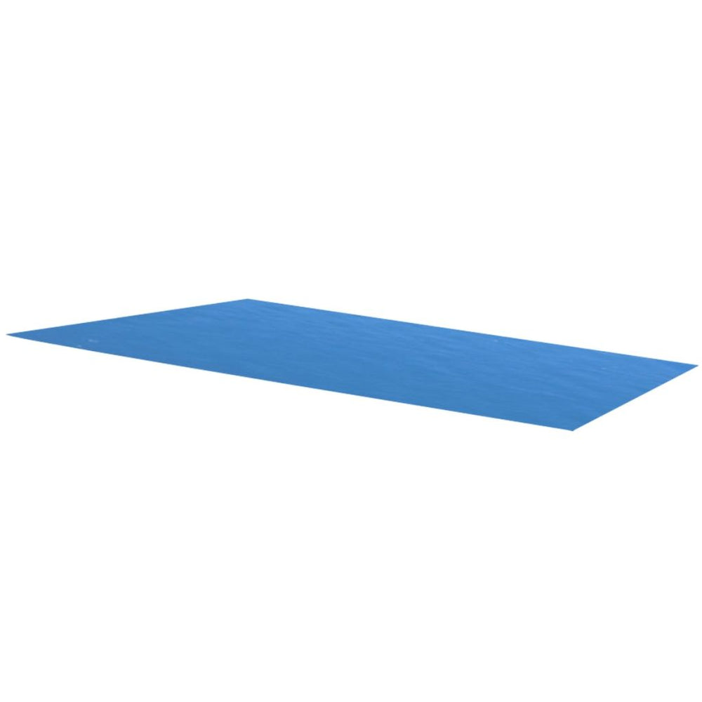 Rectangular Pool Cover 216 x 108 inch PE Blue - AbillionZ
