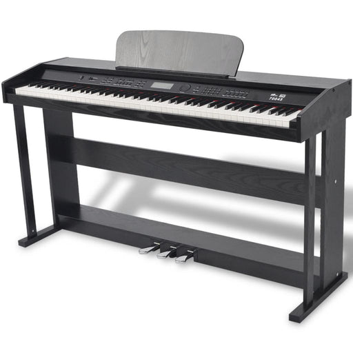 AbillionZ Collection 88-key Digital Piano with Pedals Black Melamine Board - AbillionZ