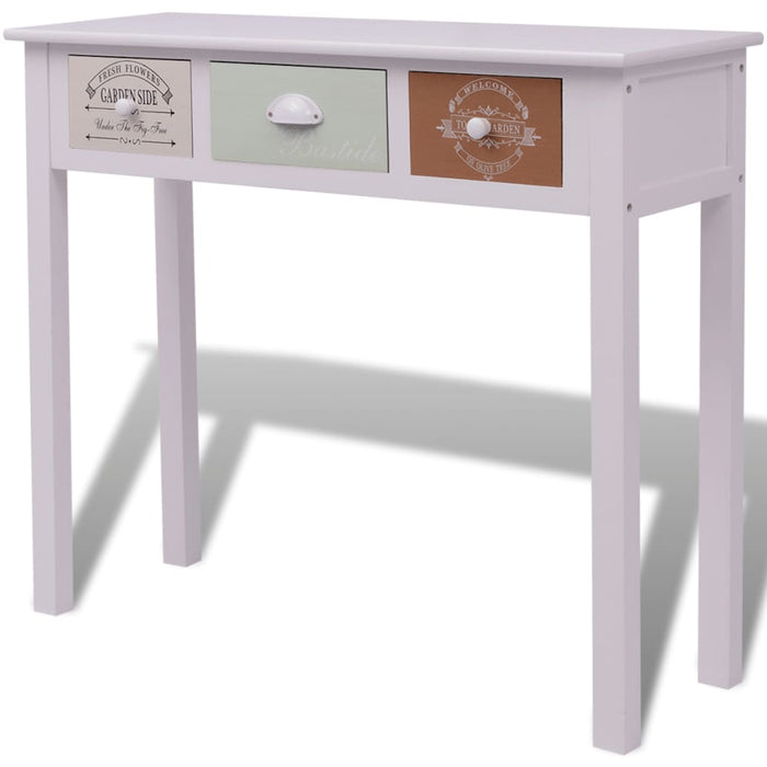 AbillionZ Collection French Console Table Wood - AbillionZ