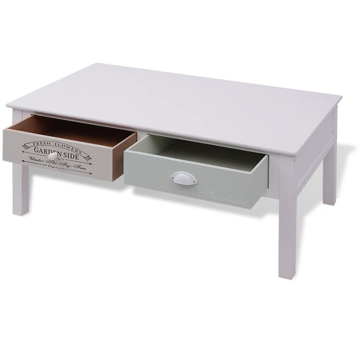AbillionZ Collection French Coffee Table Wood - AbillionZ
