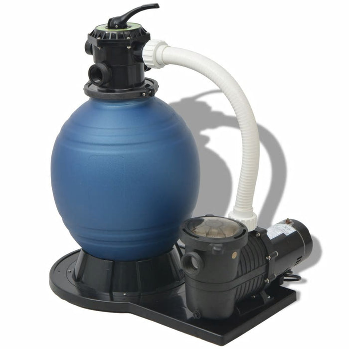 AbillionZ Collection Sand Filter with Pool Pump 18 inch 1 HP 4740 GPH - AbillionZ