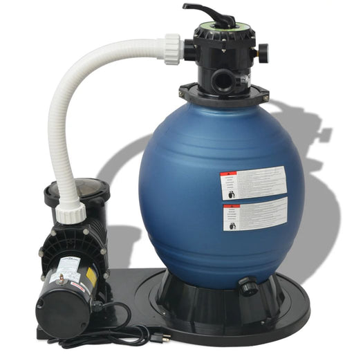 AbillionZ Collection Sand Filter with Pool Pump 18 inch 1 HP 4740 GPH