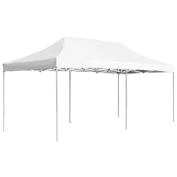 "AbillionZ Collection Professional Folding Party Tent Aluminium 236.2""x118.1"" White - AbillionZ"