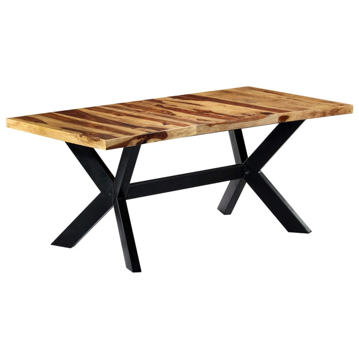 "AbillionZ Collection Dining Table 70.9""x35.4""x29.5"" Solid Sheesham Wood - AbillionZ"