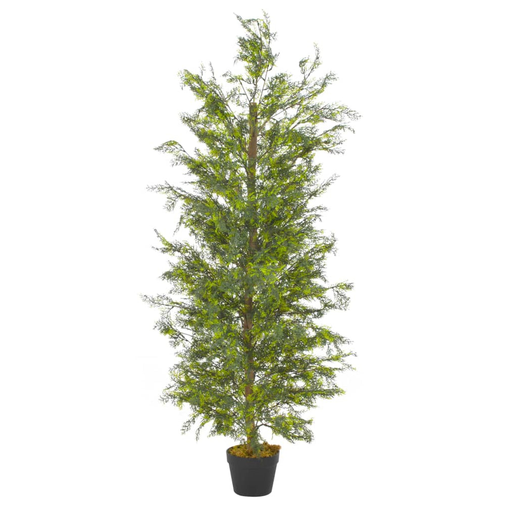 "AbillionZ Collection Artificial Plant Cypress Tree with Pot Green 59.1"" - AbillionZ"